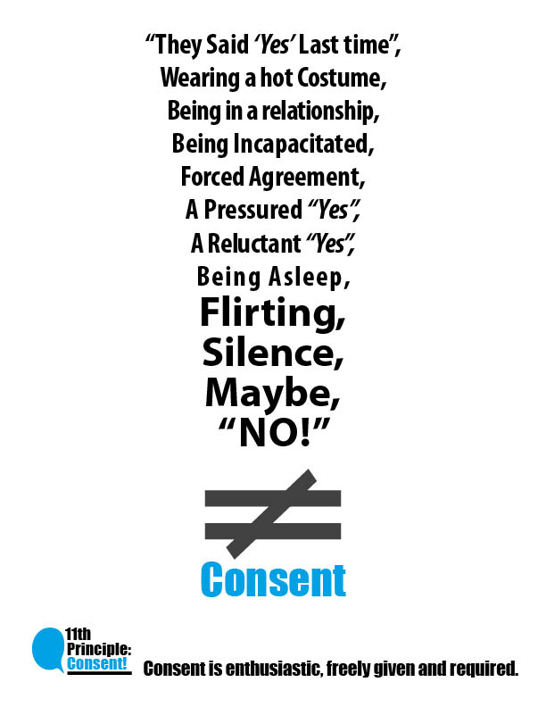 Does not equal consent