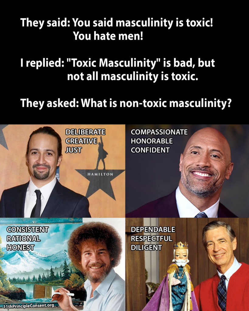 Toxic Masculinity Meme created by Jaime Chandra on 9-24-18